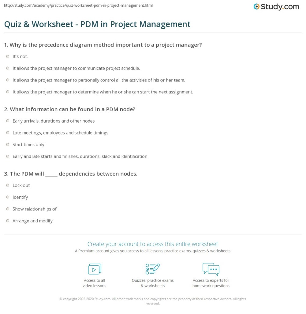 medium resolution of print precedence diagram method in project management worksheet