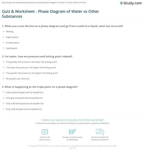 small resolution of print phase diagram of water vs other substances differences meaning worksheet