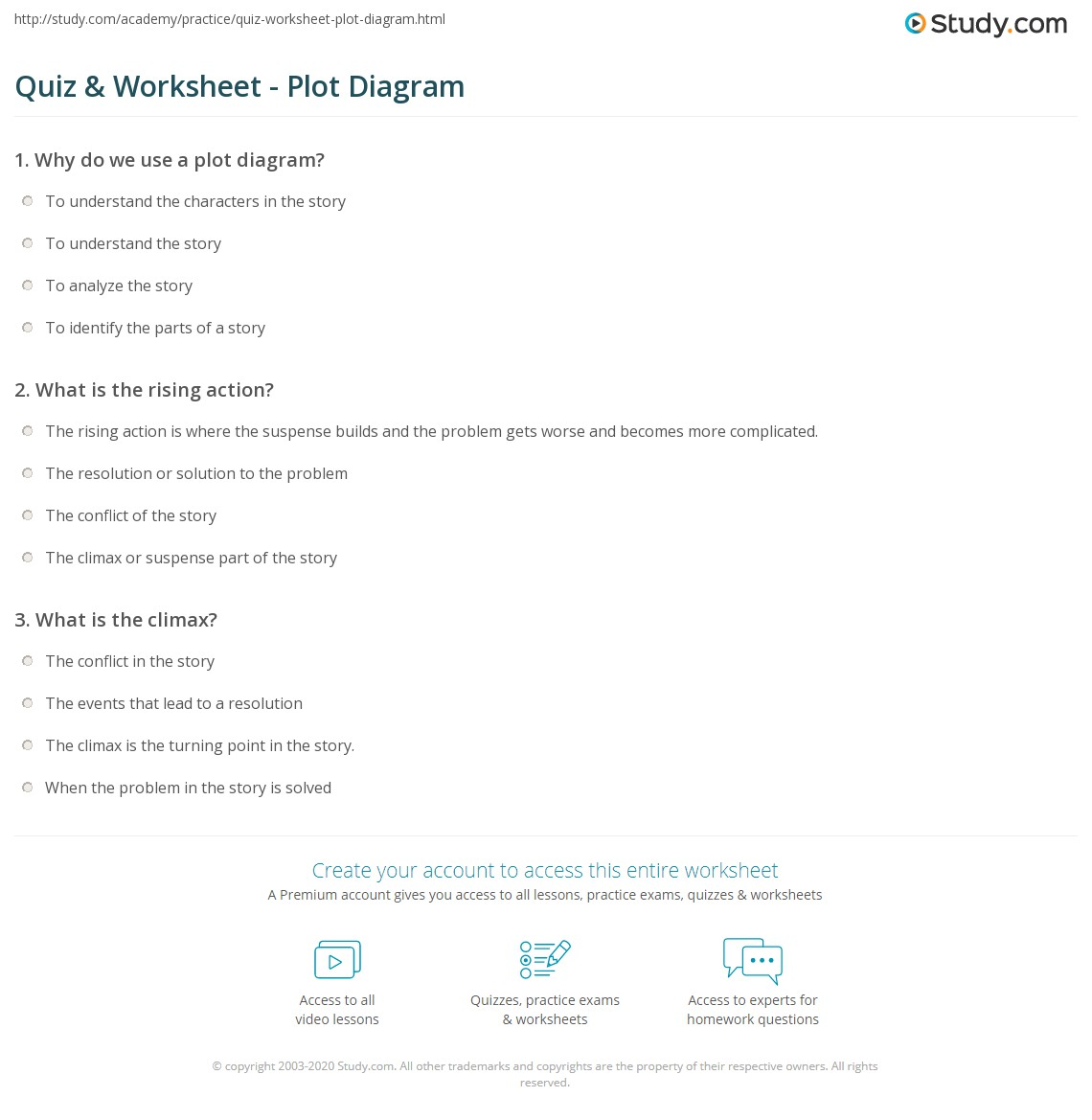plot diagram and definitions shovelhead engine quiz worksheet study
