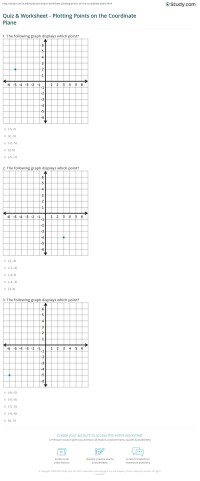 Printables. Graphing Points On A Coordinate Plane ...