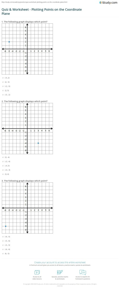 small resolution of Table Graph Points Worksheet   Printable Worksheets and Activities for  Teachers
