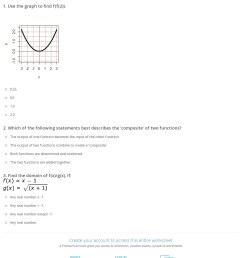 Quiz \u0026 Worksheet - Practice Problems with Function Operations   Study.com [ 1570 x 1140 Pixel ]