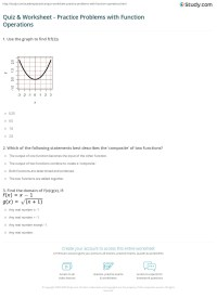 worksheet. Compositions Of Functions Worksheet. Grass ...