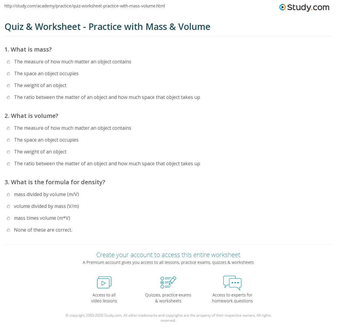 worksheet Mass Volume Density Worksheet Answers mass and volume worksheet free worksheets library download worksheet