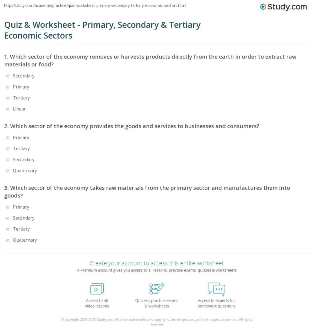 medium resolution of Quiz \u0026 Worksheet - Primary