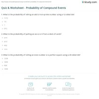 7th Grade Math Worksheets Probability - theoretical ...
