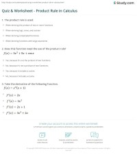 Product Rule Worksheet Free Worksheets Library | Download ...