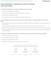 Usable the Progressive Era Worksheet Answers | goodsnyc.com