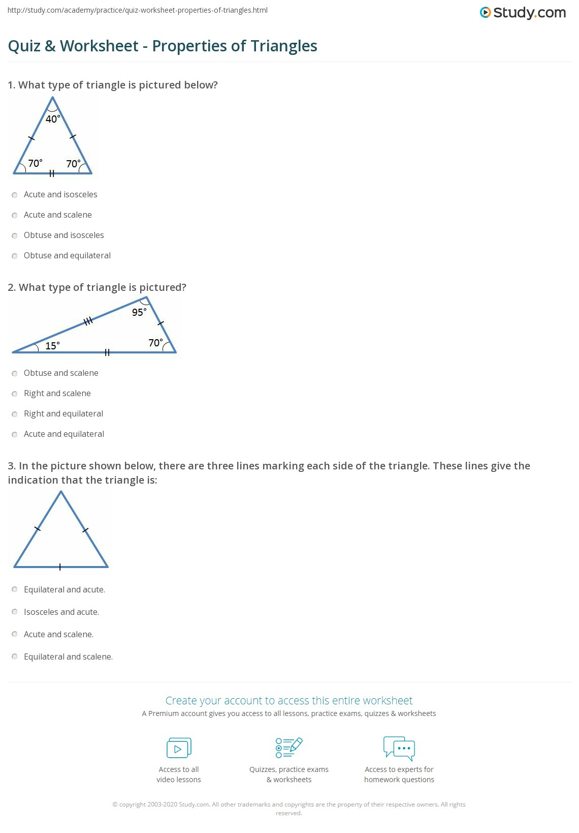 Worksheet Area Of Triangle Worksheets Worksheet Fun