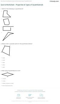 quadrilateral homework help