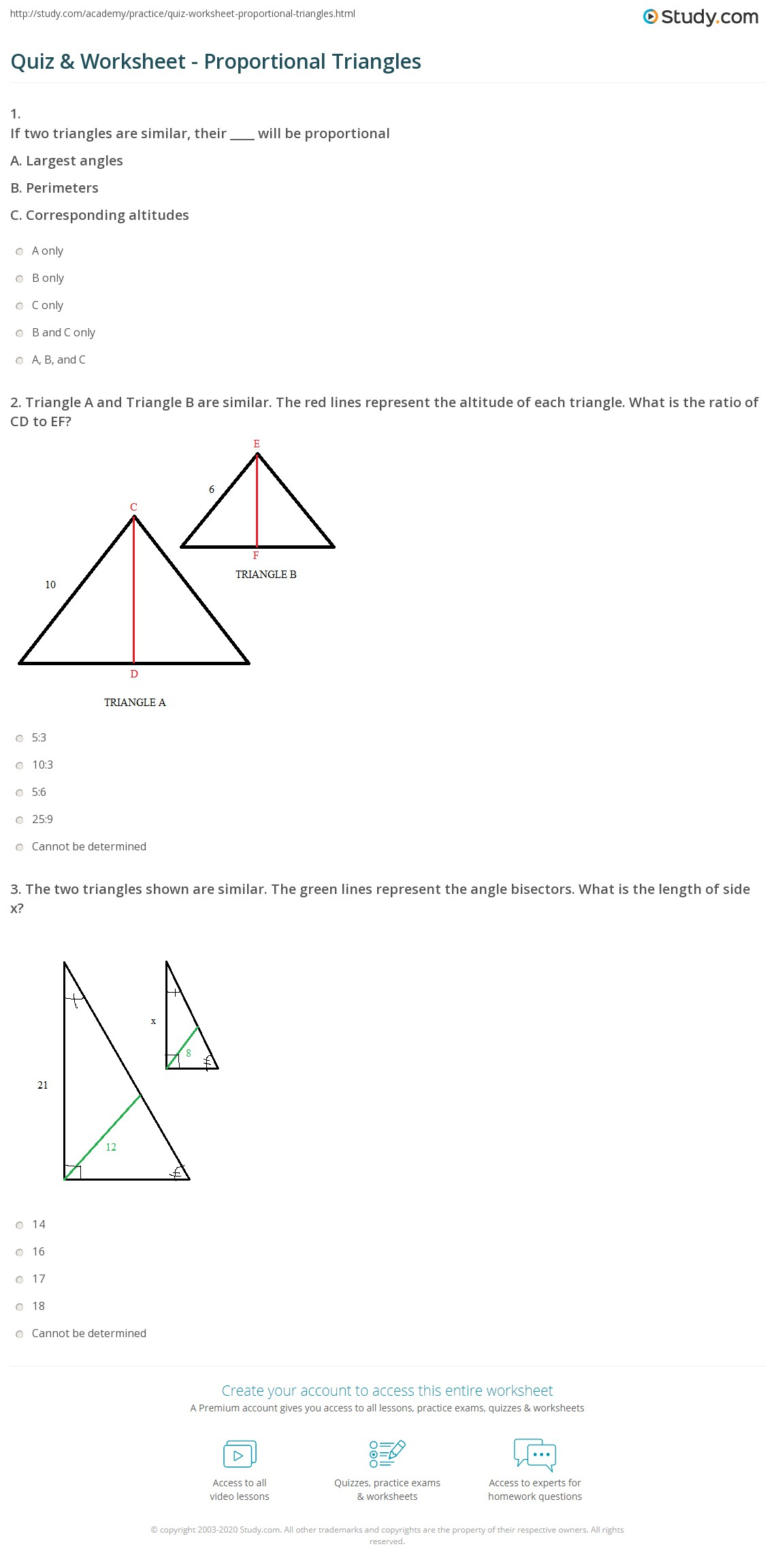 Glencoe Geometry Worksheets Answer Key