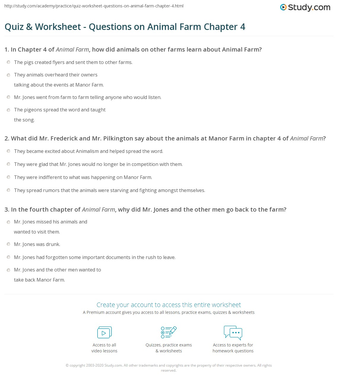 Printables Animal Farm Worksheets Happywheelsfreak