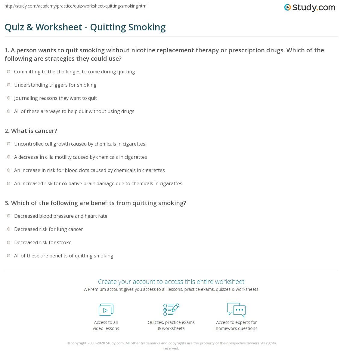 Understanding Cancer Worksheet Answer Key