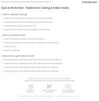 Index Fossils Worksheet Worksheets For School - Getadating