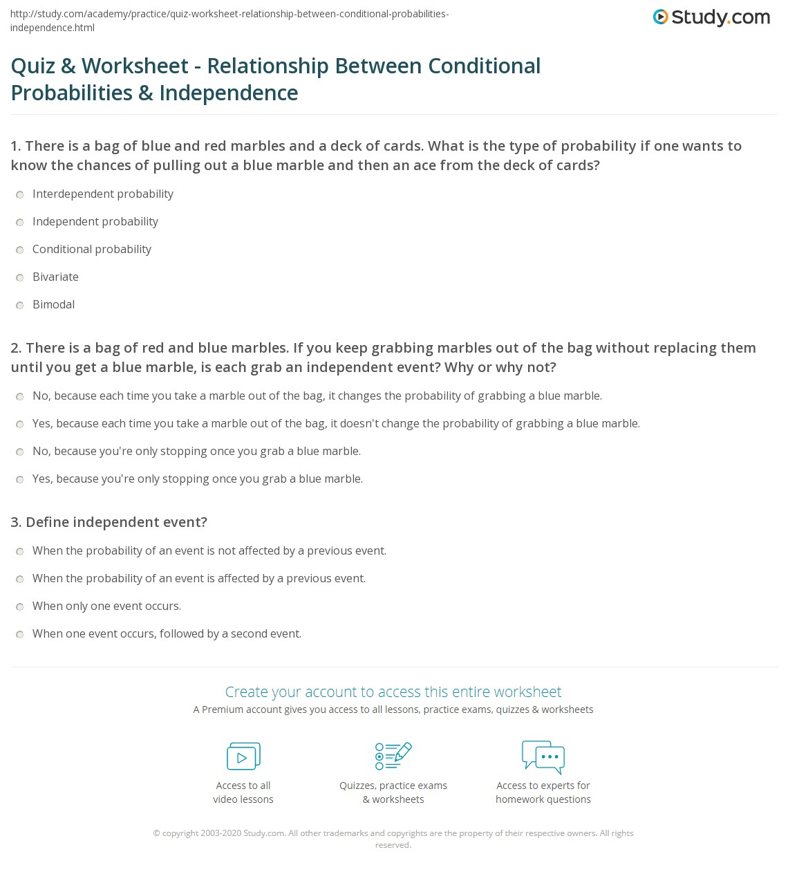 Worksheet Conditional Probability Worksheet Hunterhq