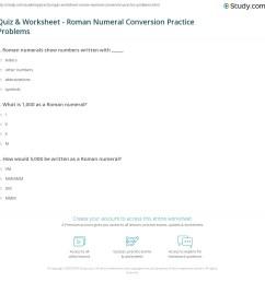 Roman Numerals Practice Worksheet   Printable Worksheets and Activities for  Teachers [ 1160 x 1140 Pixel ]