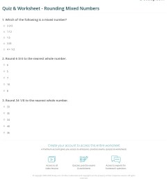 Mixed Rounding Worksheets   Printable Worksheets and Activities for  Teachers [ 1281 x 1140 Pixel ]