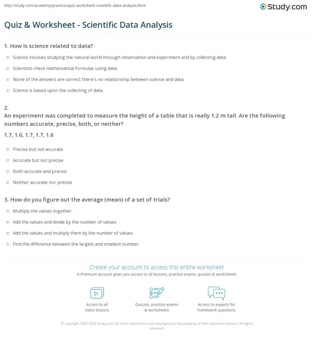 medium resolution of 31 Data Analysis Practice Worksheet - Worksheet Resource Plans