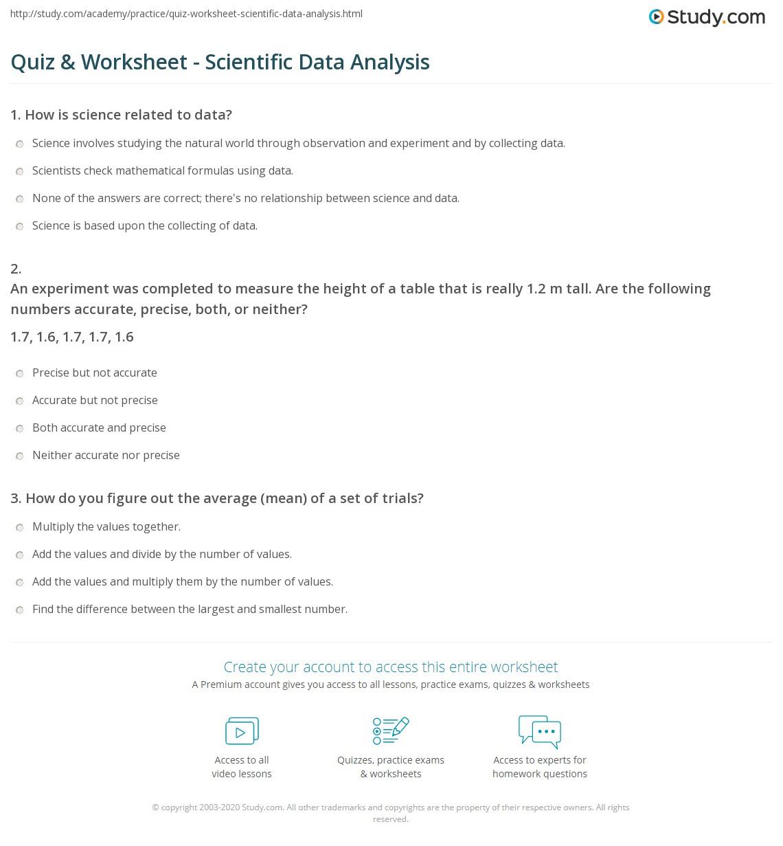 hight resolution of 31 Data Analysis Practice Worksheet - Worksheet Resource Plans
