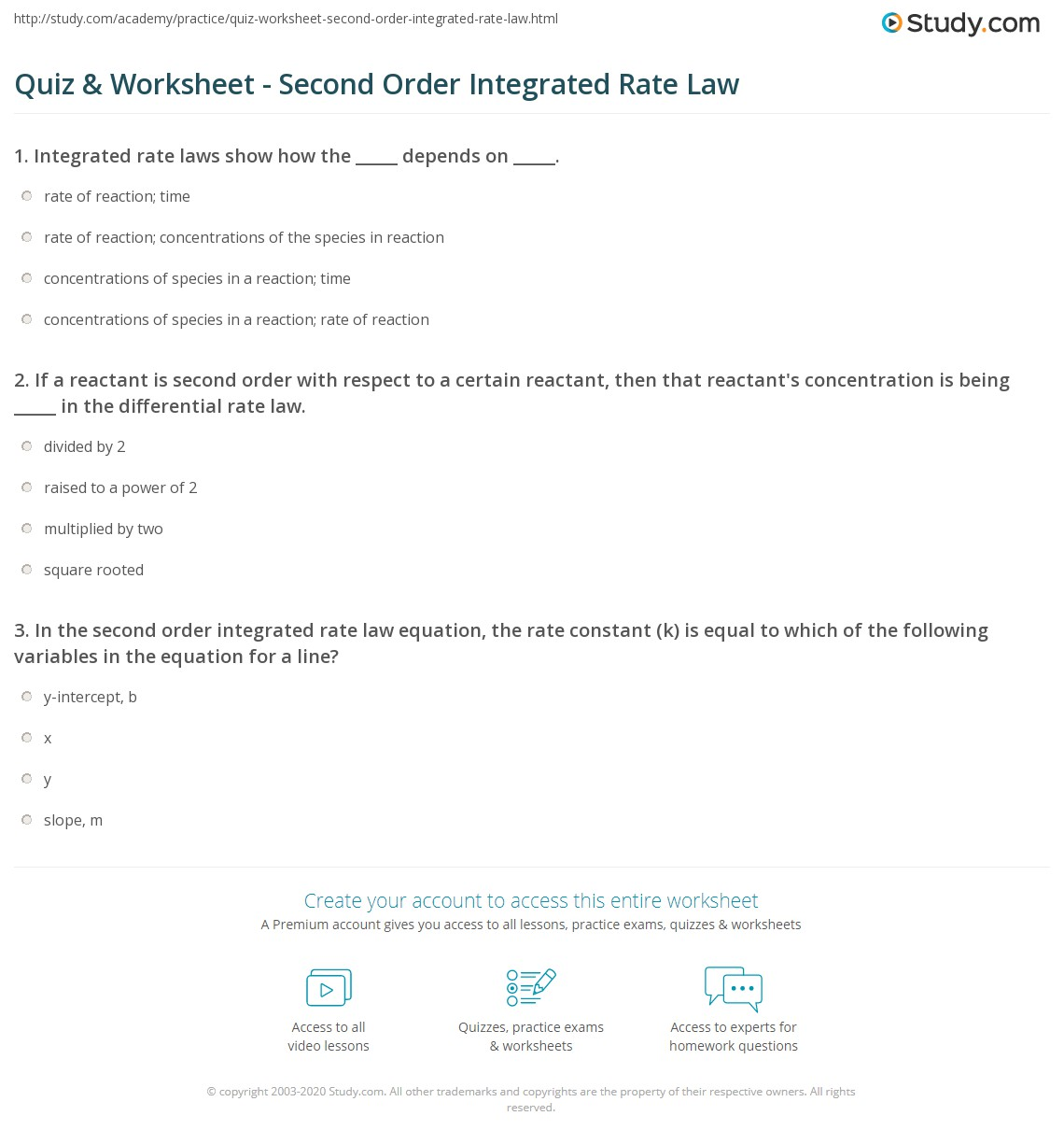 Worksheet Rate Law Worksheet Grass Fedjp Worksheet Study