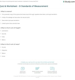 35 Standards Of Measurement Worksheet - Worksheet Resource Plans [ 1169 x 1140 Pixel ]