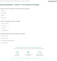 print a tree grows in brooklyn by betty smith summary analysis worksheet [ 1140 x 1168 Pixel ]