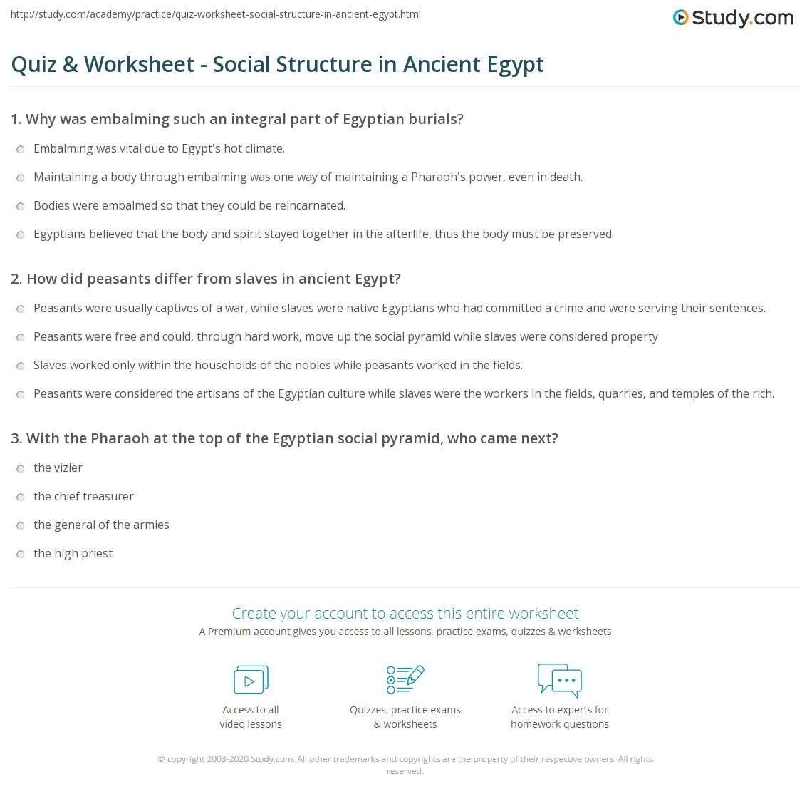 Ancient Egyption Math