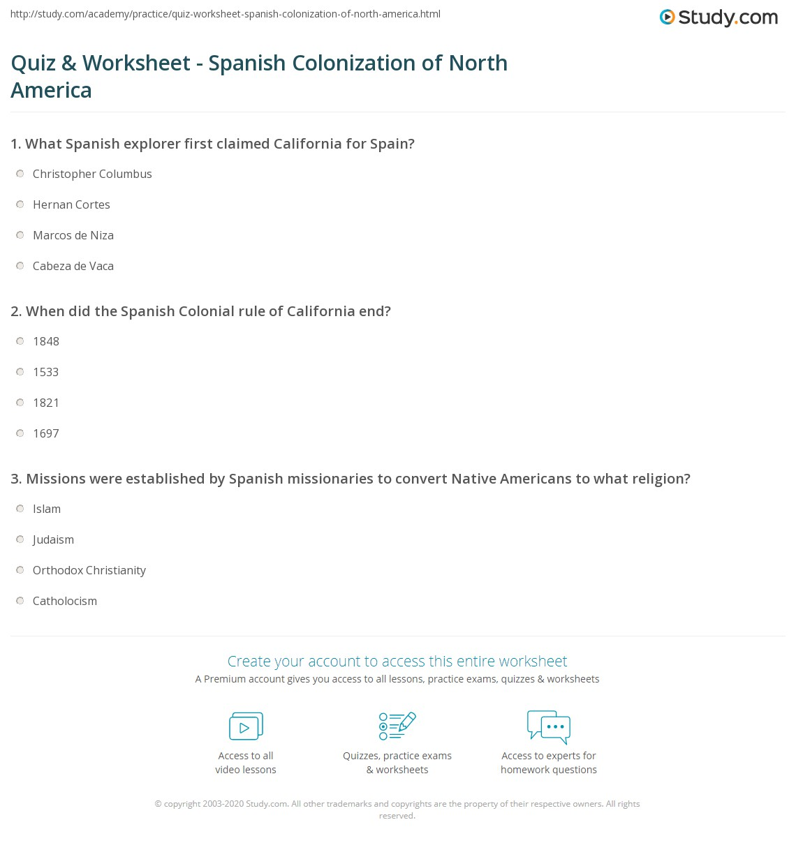 Patricia Va California Worksheet