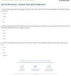 Descriptive Adjectives Worksheet   Printable Worksheets and Activities for  Teachers [ 1253 x 1140 Pixel ]