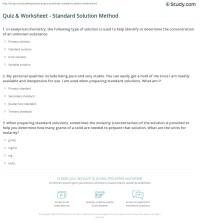 Concentration Worksheet Free Worksheets Library   Download ...