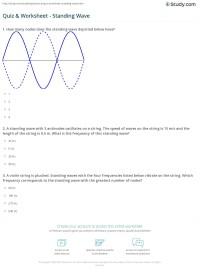 28+ [ Wave Worksheet 1 ]