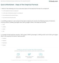 worksheet. Empirical Formulas Worksheet. Grass Fedjp