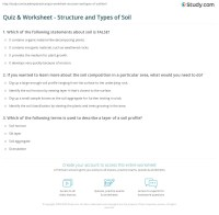 Types Of Soil Worksheet Free Worksheets Library