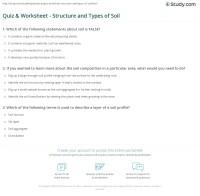 Types Of Soil Worksheet Free Worksheets Library | Download ...