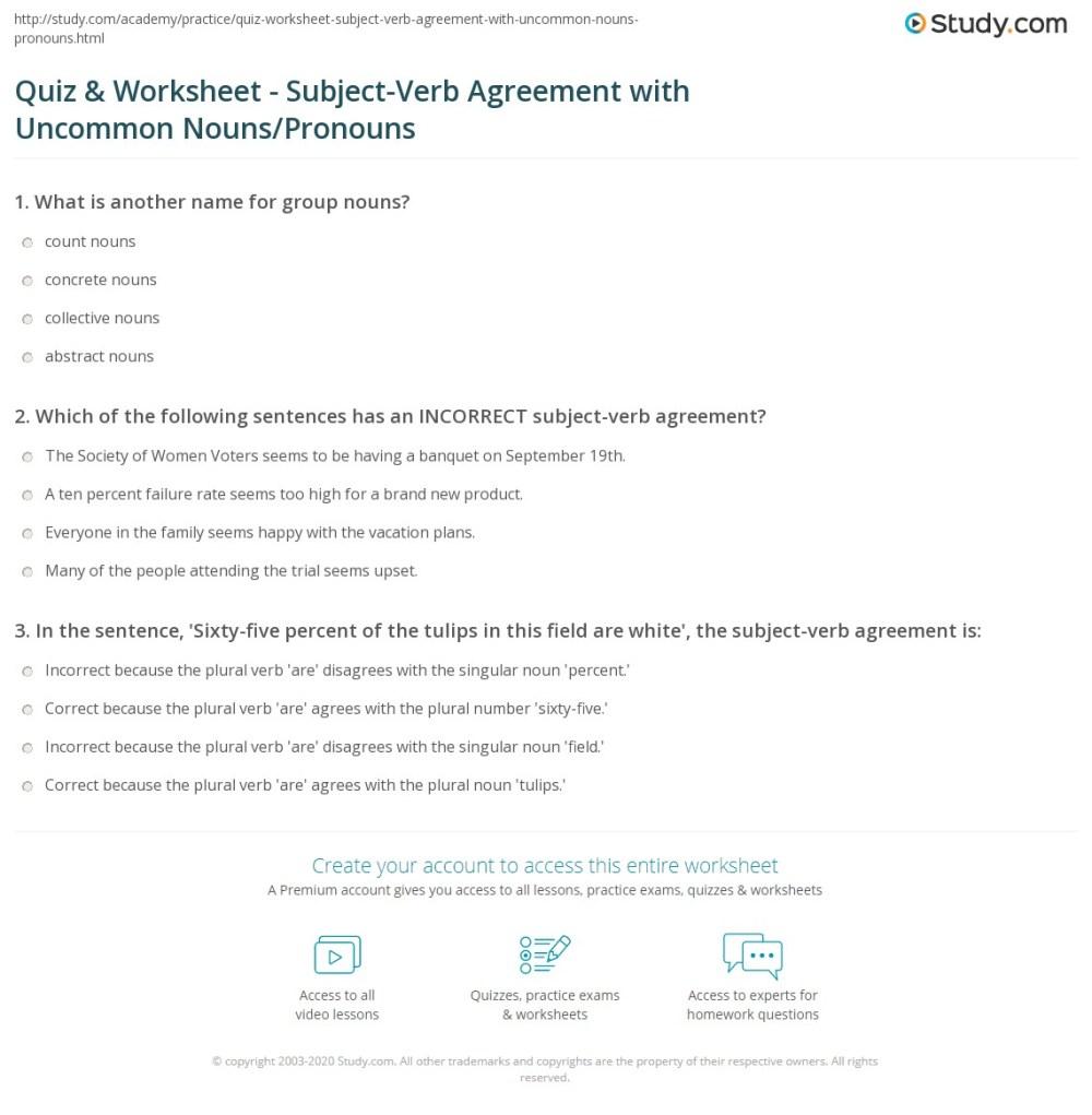 medium resolution of Singular And Plural Verbs Worksheet - Worksheet List