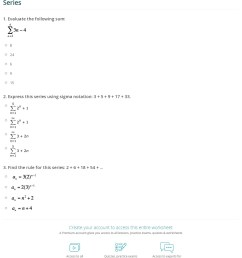 Quiz \u0026 Worksheet - Summation Notation \u0026 Mathematical Series   Study.com [ 1449 x 1140 Pixel ]