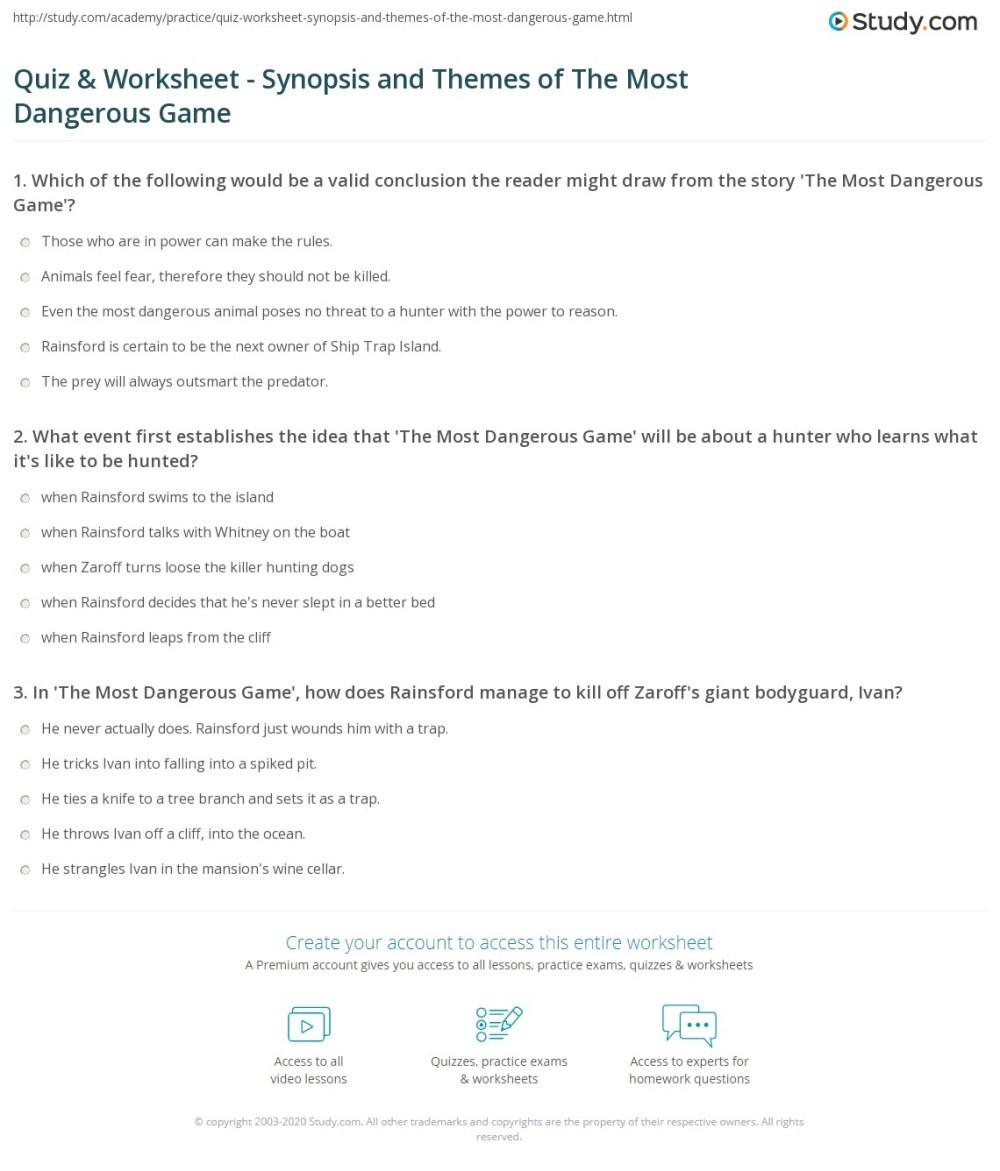 medium resolution of 29 The Most Dangerous Game Vocabulary Worksheet - Worksheet Resource Plans