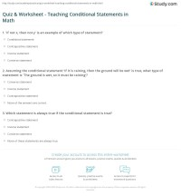 Worksheets. Converse Inverse Contrapositive Worksheet
