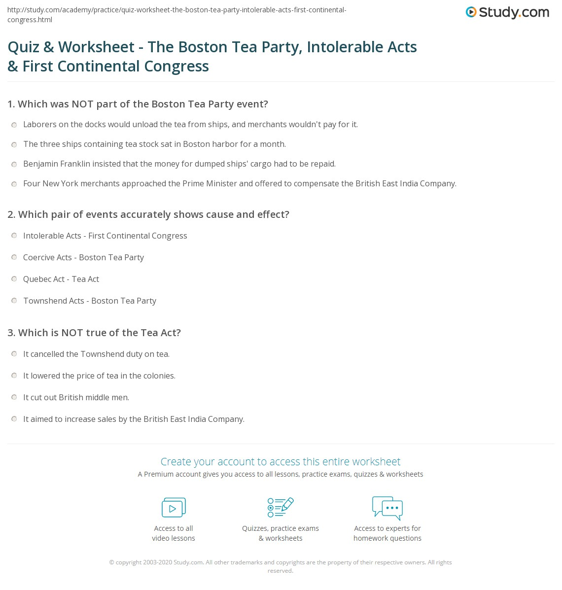 hight resolution of The Stamp Act Worksheet Answers - Promotiontablecovers