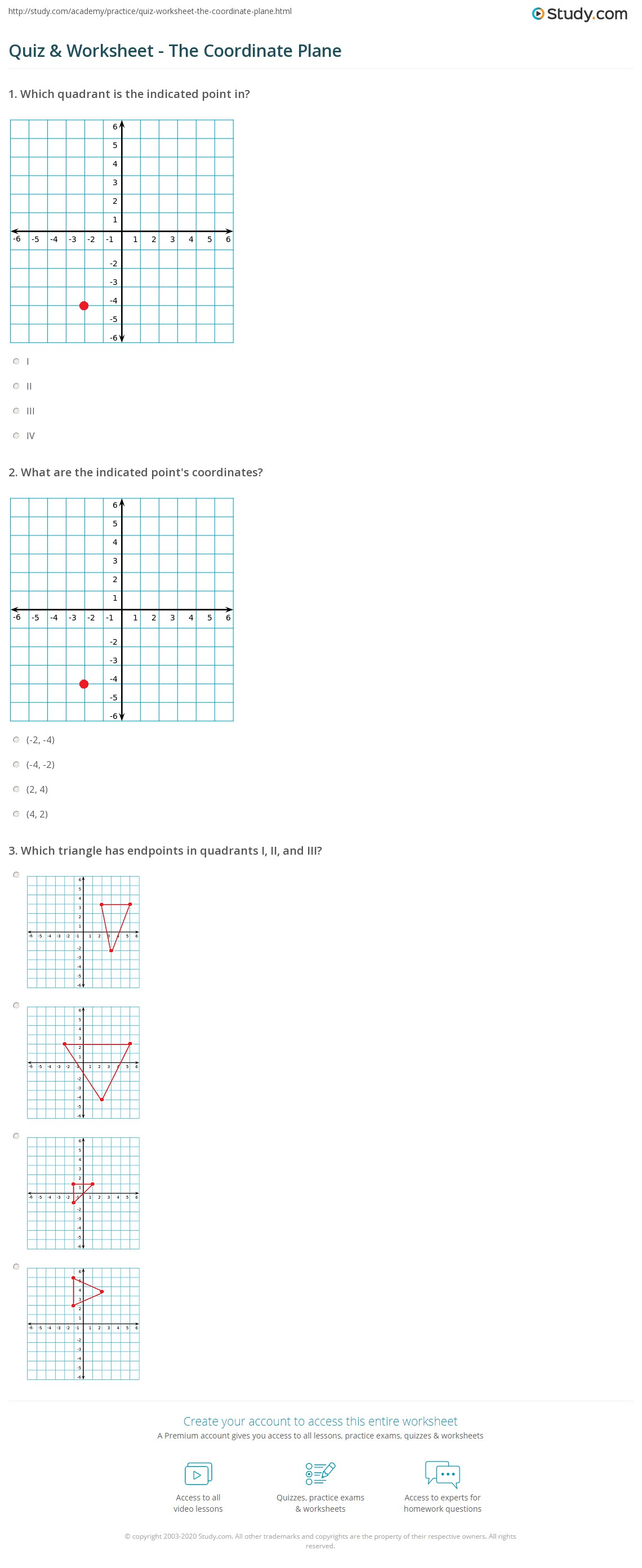 hight resolution of 35 The Coordinate Plane Worksheet Answers - Worksheet Resource Plans