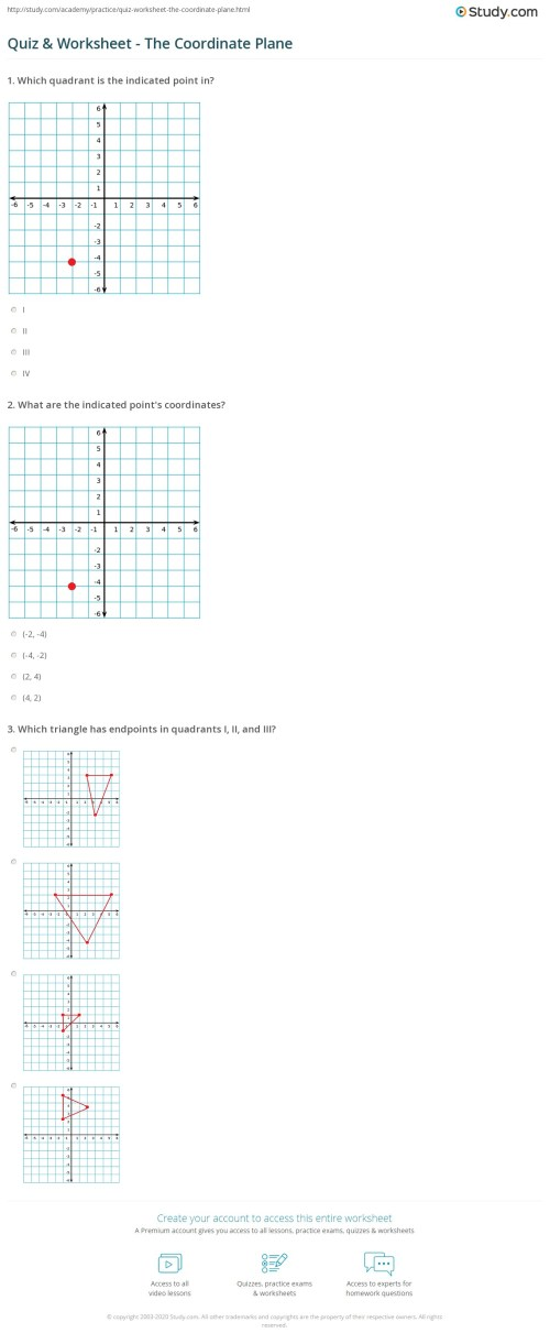 small resolution of 35 The Coordinate Plane Worksheet Answers - Worksheet Resource Plans