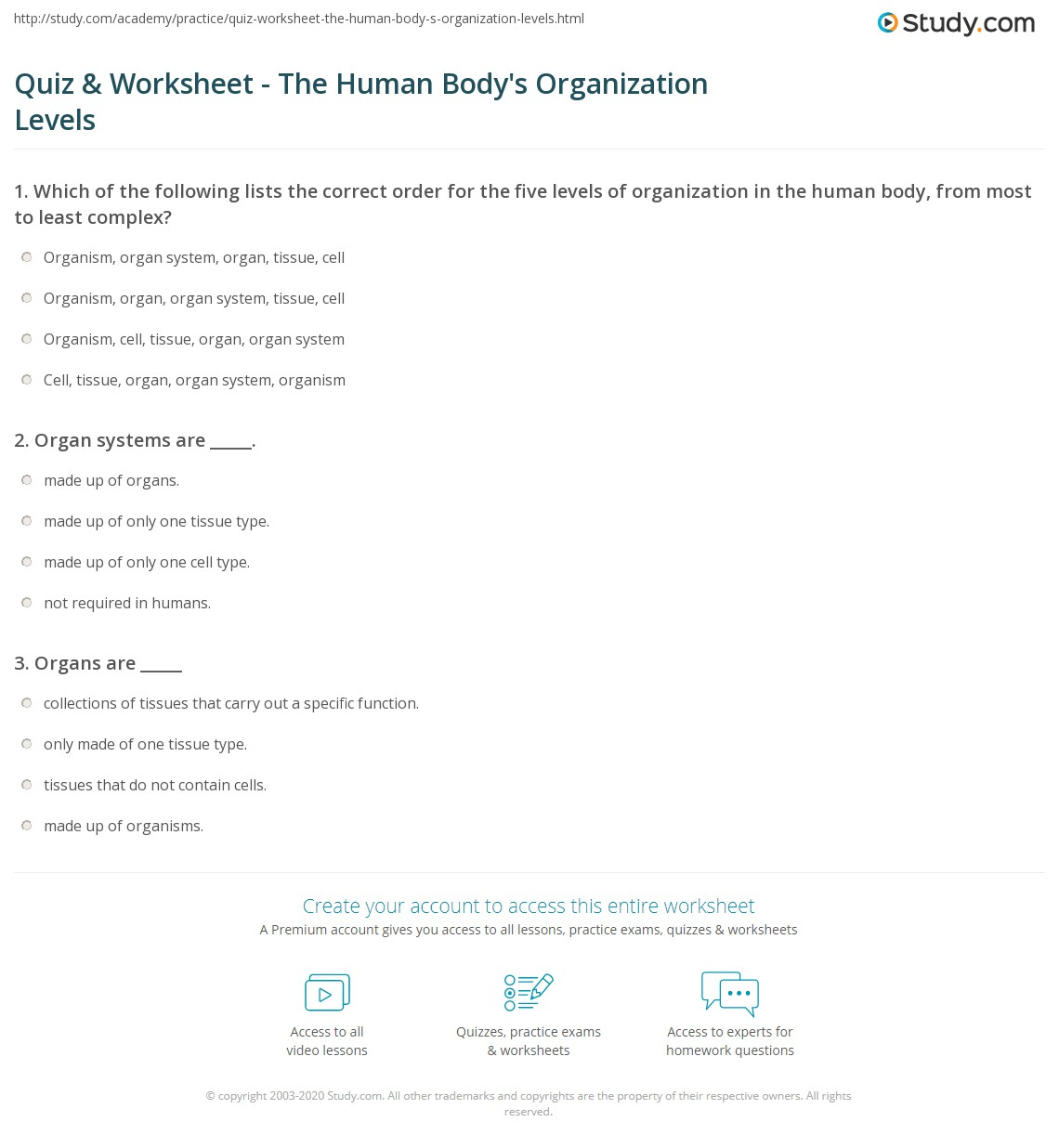 Worksheet Levels Of Organization Worksheet Grass Fedjp Worksheet Study Site
