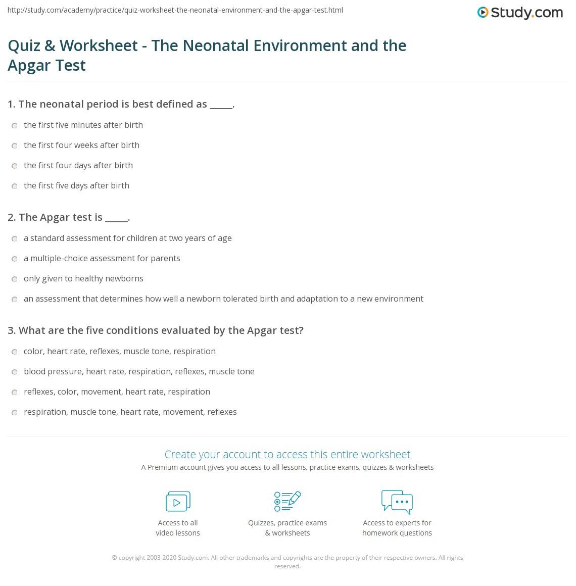 Nicu Worksheet Neonate
