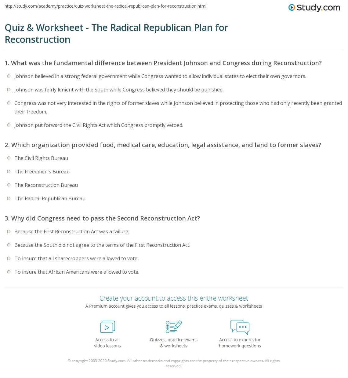 Wordserach Civil Rights Worksheet