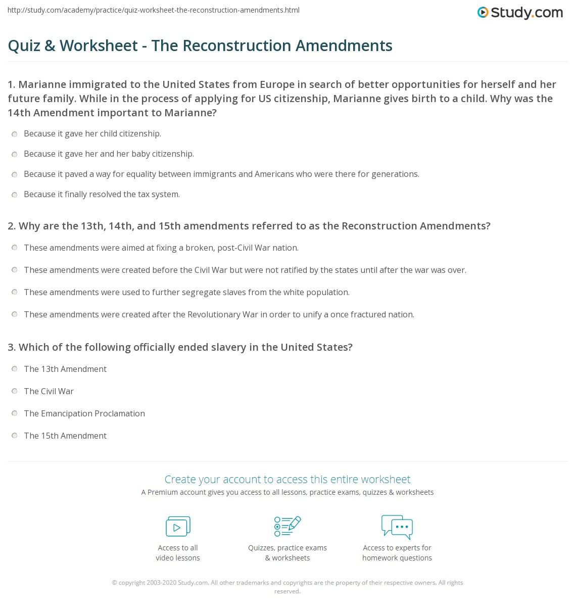 Worksheet Amendments Worksheet Grass Fedjp Worksheet Study Site