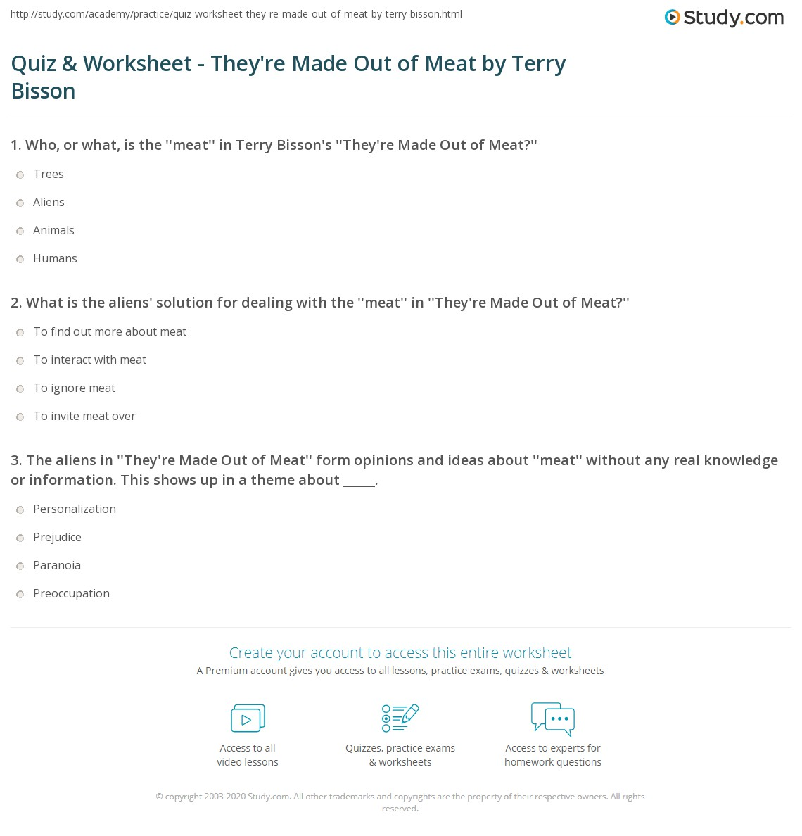quiz worksheet they re