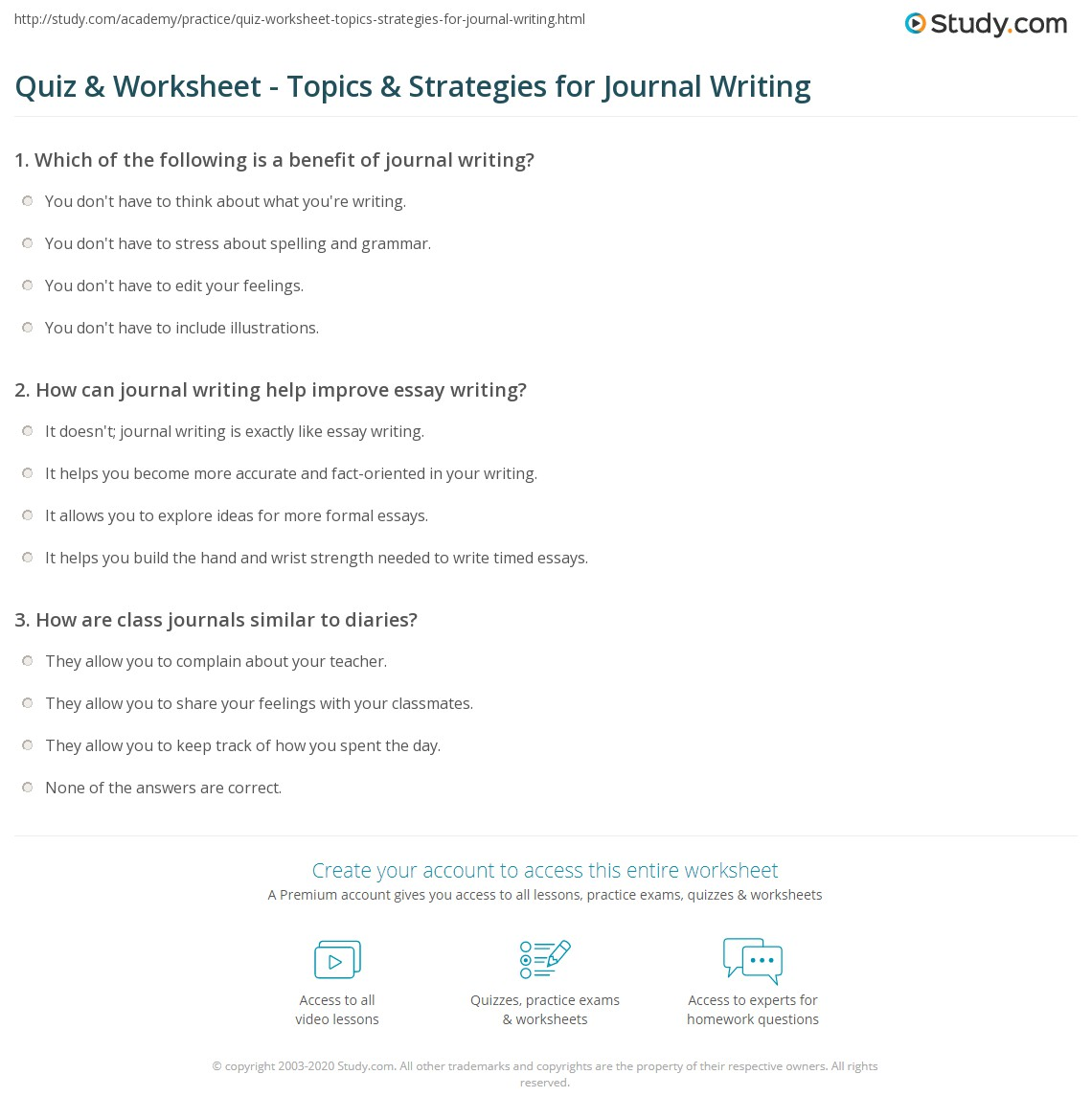 Topics To Practice Writing 100 Writing Practice Lessons Amp Exercises 01 29