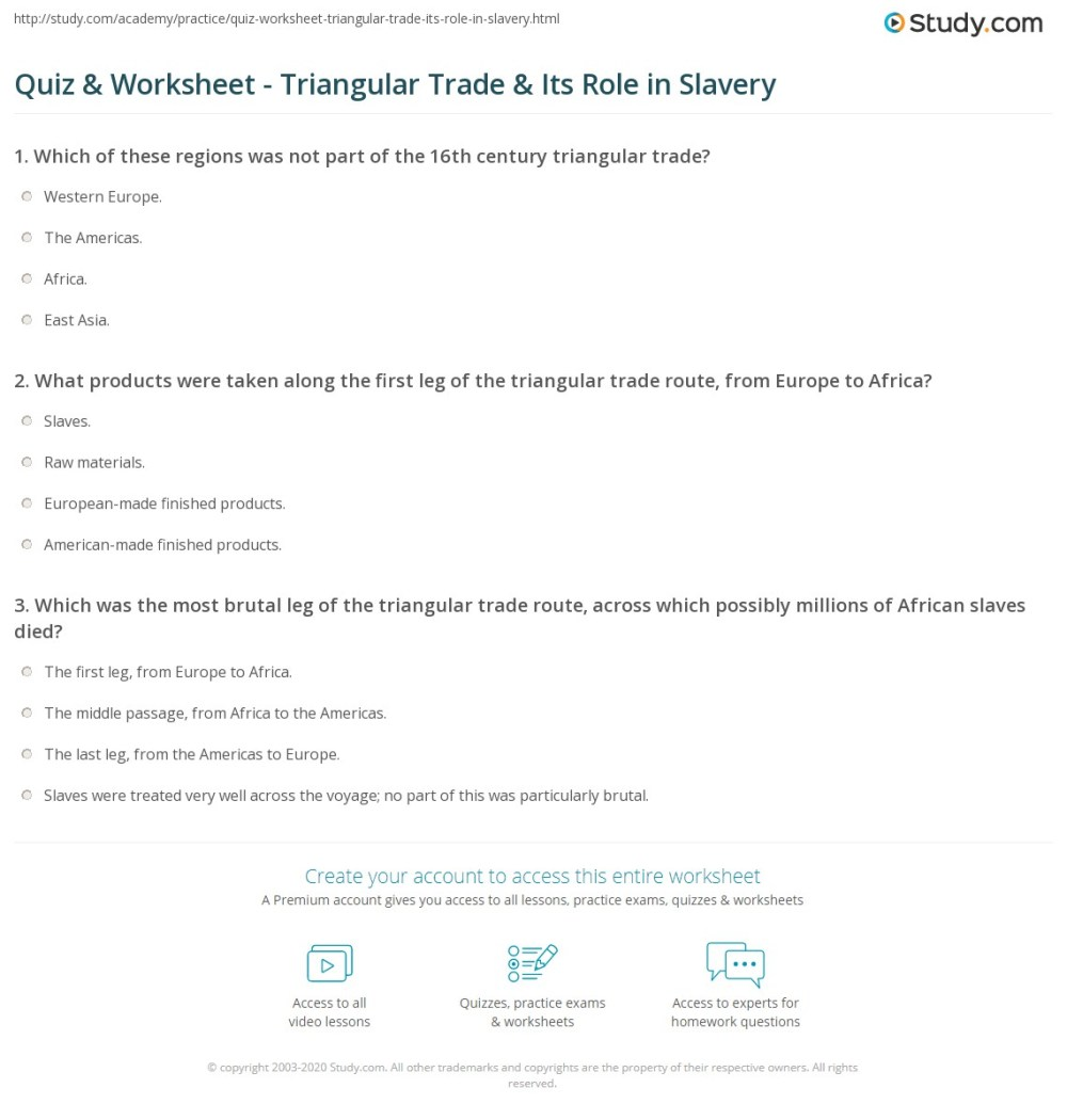 medium resolution of Slavery In The Colonies Worksheet - Promotiontablecovers