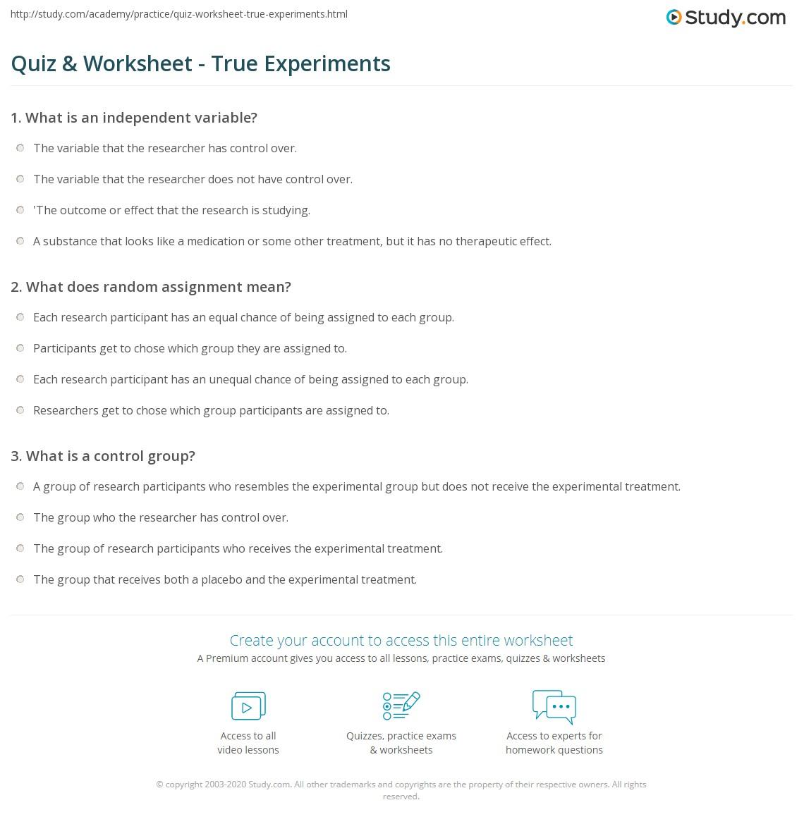 Homework Answers Science
