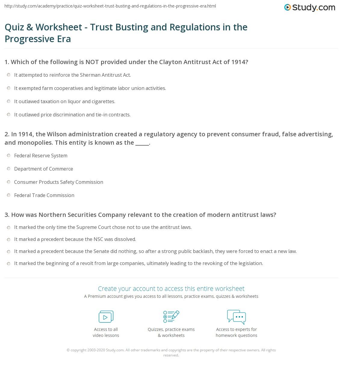 Consumer Personality Worksheet